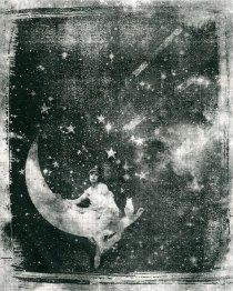 Celestial Dream on Newsprint