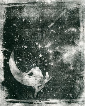 Celestial Dream on Newsprint