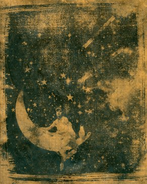 Celestial Dream on Brown Paper